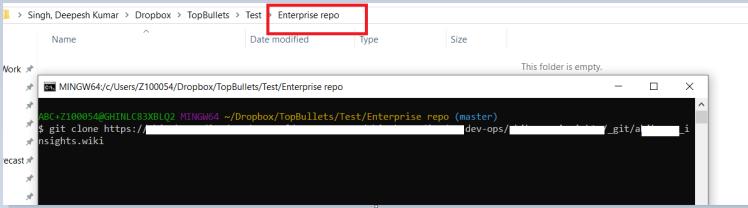 Enterprise clone